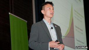 Zuora chief executive Tien Tzuo