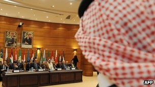 Arab League meeting in Rabat, Morocco. 16 Nov 2011