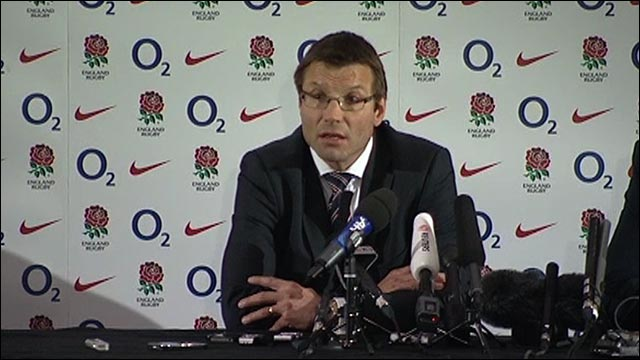 RFU director of elite rugby Rob Andrew