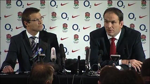 Martin Johnson explains his England exit