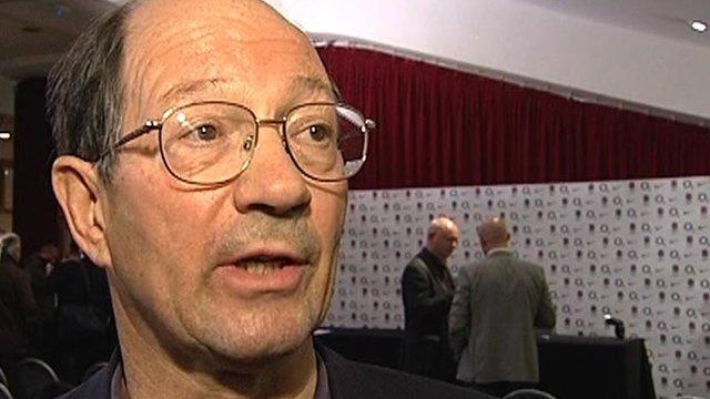 BBC rugby correspondent Ian Robertson