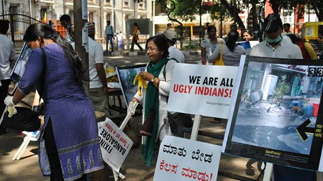 Clean-up in Bangalore