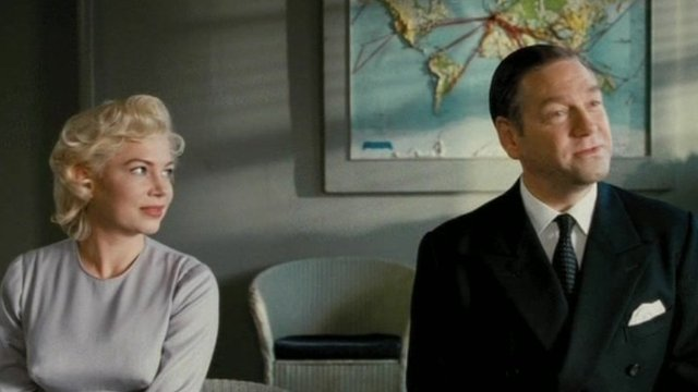 Kenneth Branagh and Michelle Williams in 'My Week with Marilyn'
