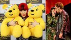 Jessie J and James Morrison at Children In Need Rocks