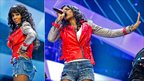 Kelly Rowland at Children In Need Rocks