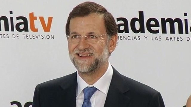 Mariano Rajoy Brey, leader of the centre-right opposition Popular Party