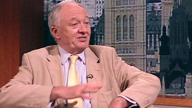 Ken Livingstone on the Andrew Marr Show