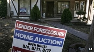 A house auction sign