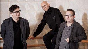Mark Wallinger, Wayne McGregor and Mark-Anthony Turnage
