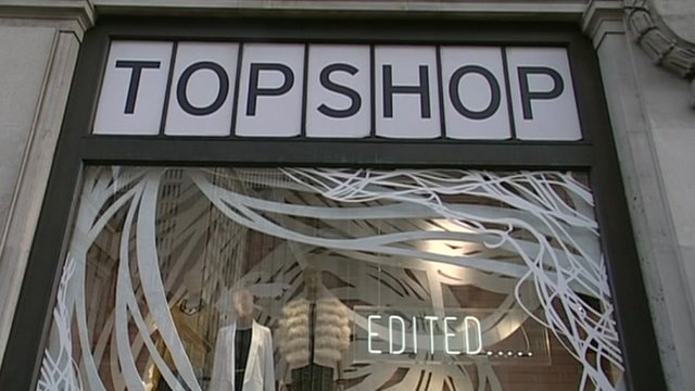 Topshop window