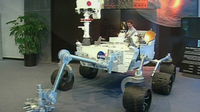 Curiosity Rover full-scale model