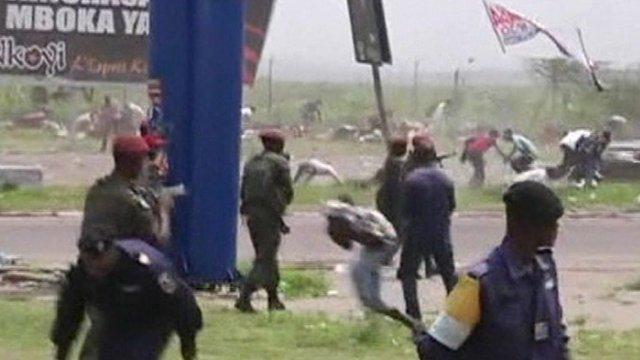 Violence in Kinshasa