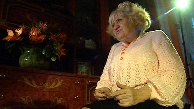 Russian pensioner Galina Lavrukhina