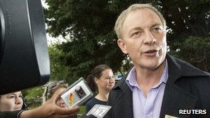 Phil Goff, pictured on 26 November 2011
