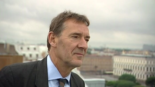Jim O'Neill of Goldman Sachs who coined the term BRICs
