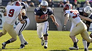 Yale and Harvard football game