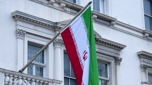 Iranian embassy in London