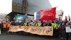 Liverpool public sector march