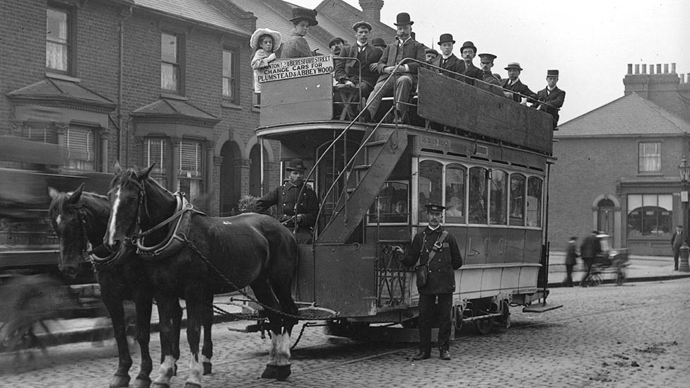 Bbc News In Pictures A History Of Trams