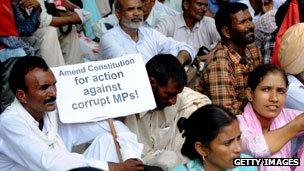 Protest in Mumbai