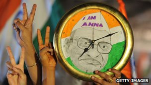 Anna supporters