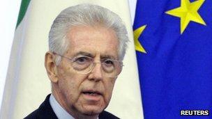 Mario Monti (4 December 2011)