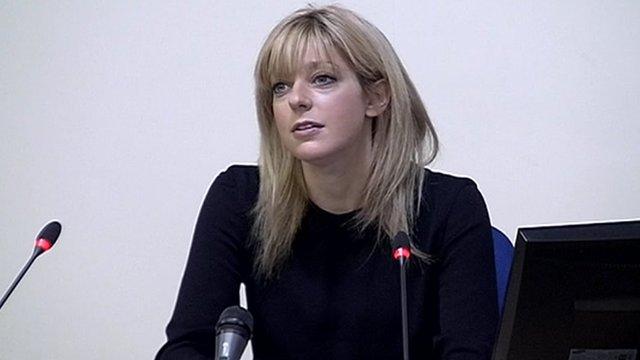 Media lawyer Charlotte Harris