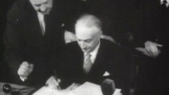 Signing of the 1957 Treaty of Rome
