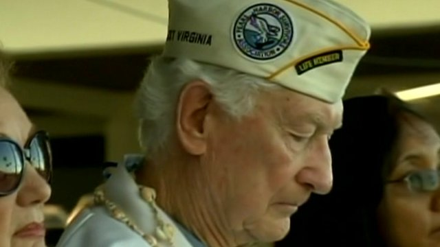 Americans gathered to remember the Pear Harbor attack