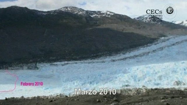 Jorge Montt Glacier footage