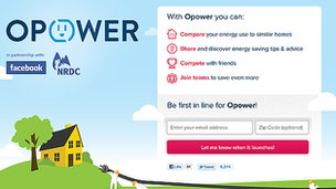 Opower Facebook page