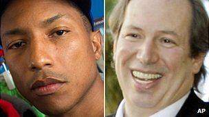 Pharrell Williams and Hans Zimmer