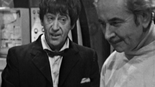 William Hartnell and Patrick Troughton