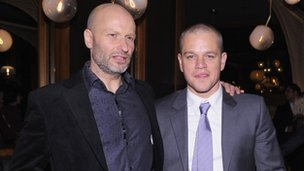 Ben Mee and Matt Damon