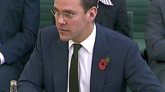 James Murdoch in November 2011