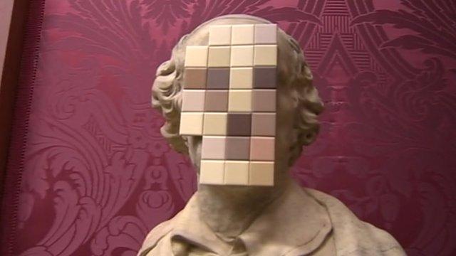 Banksy's sculpture