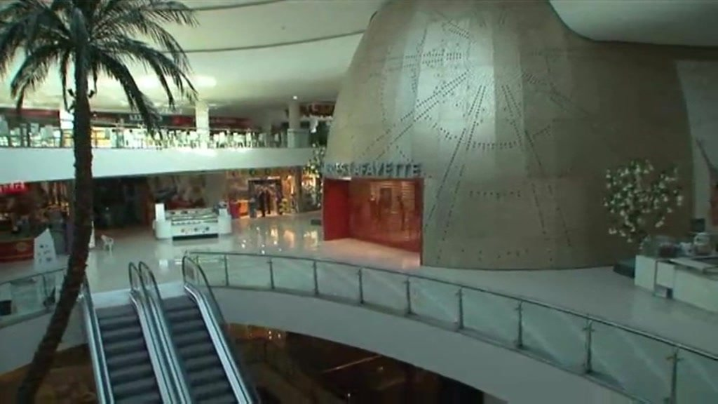 The new facility is one of the biggest shopping malls in Africa.