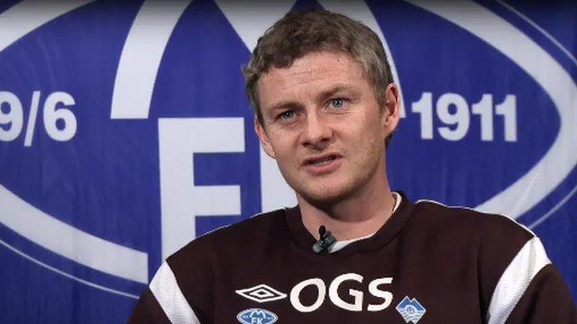 Molde manager Ole Gunnar Solskjaer