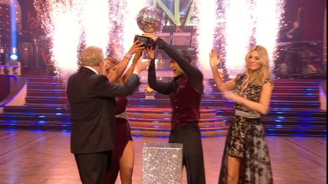 This year's Strictly Come Dancing has been won by the drummer Harry Judd