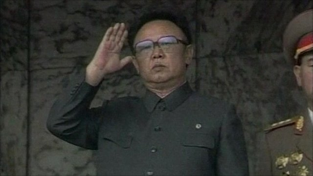 The North Korean leader, Kim Jong-il