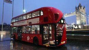 New TfL bus in London