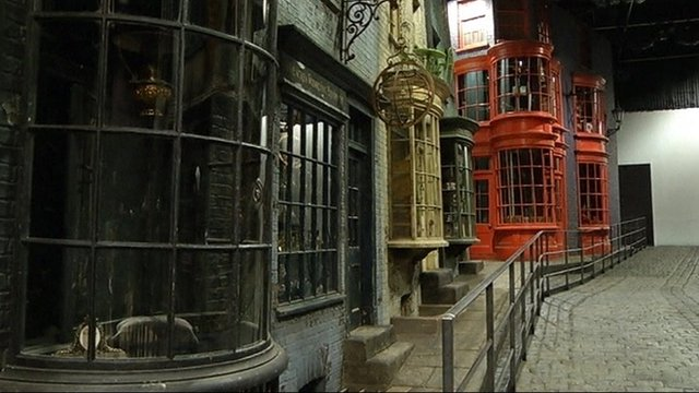 Diagon Alley studio set