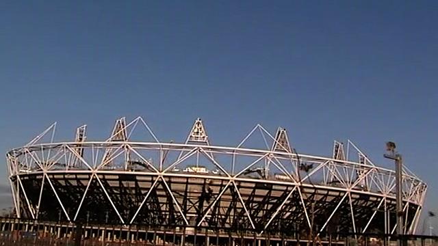 The London 2012 stadium
