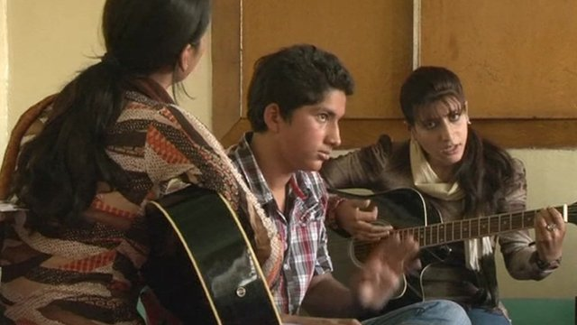 Kashmiri youths