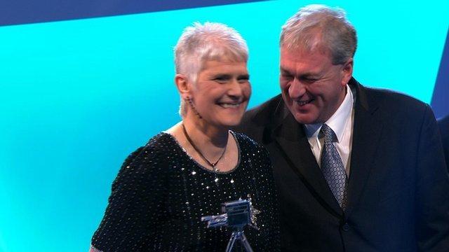 Scots duo win Sports Personality Unsung Hero award