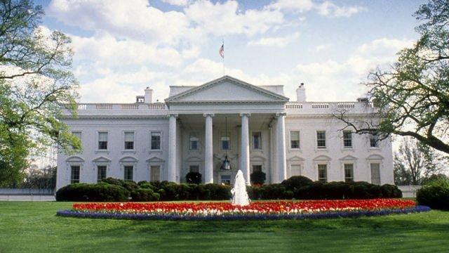 Y Tŷ Gwyn yn Washington