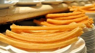 Churros (file pictures)