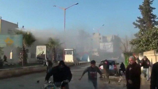 Syria clashes