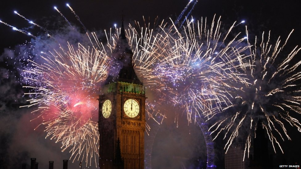 10 Top Cities With The Best New Year's Eve Celebrations -Big Ben