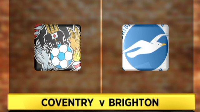 Coventry 2-0 Brighton
